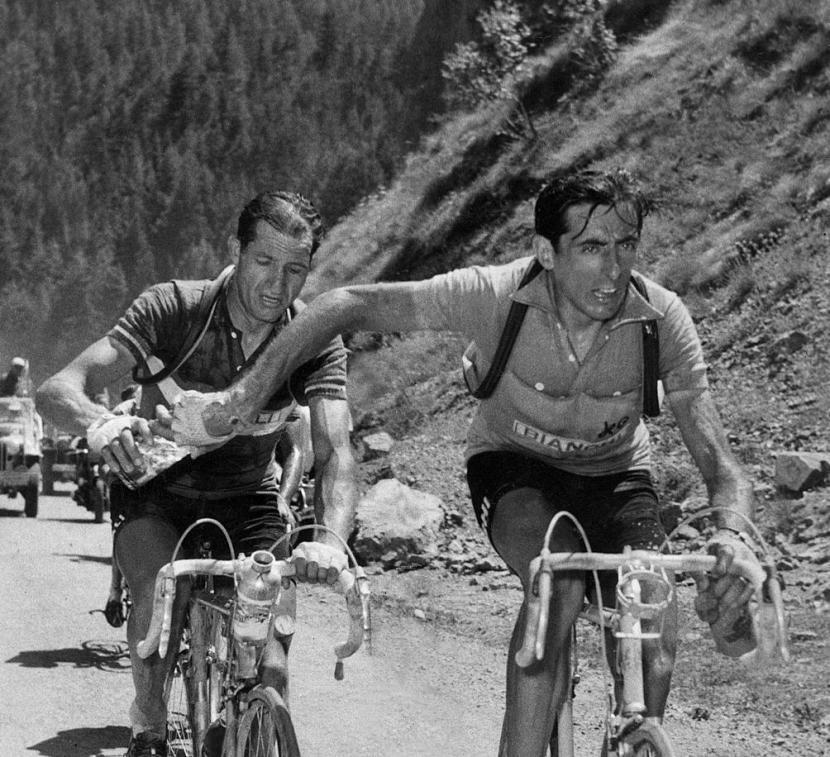 Una leyenda para el ciclismo, un héroe para lahumanidad