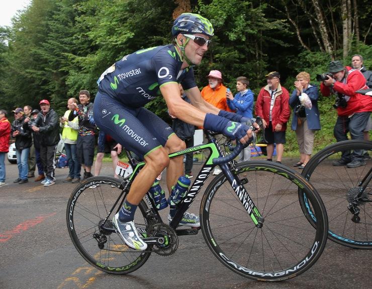 Valverde, que no conoce el Giro, aspira a todo. © Getty Images