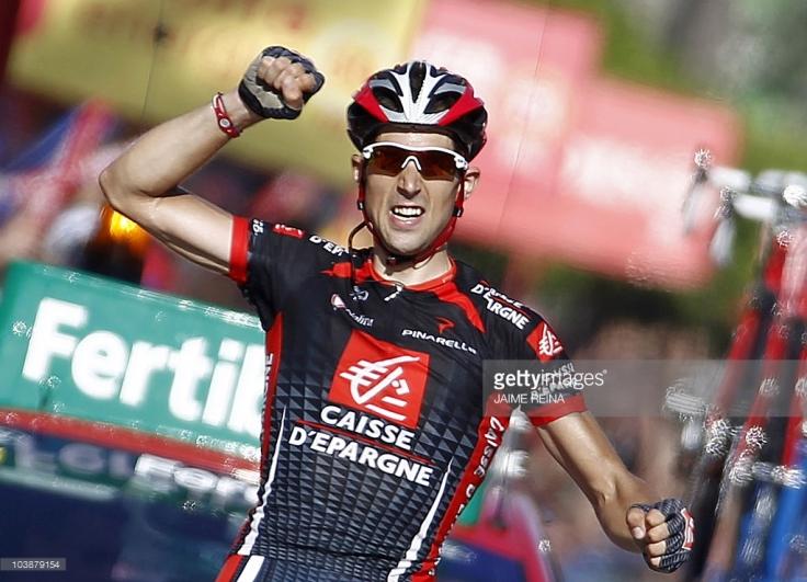 Dos victorias de etapa en la Vuelta a España destacan en su palmarés.