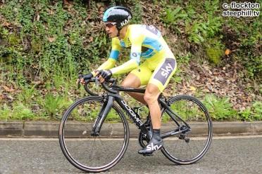 Henao peleó con valentía, pero sucumbió ante el empuje de Contador. De nuevo, el ciclista colombiano se queda a las puertas de ganar una carrera que se le da de maravilla.