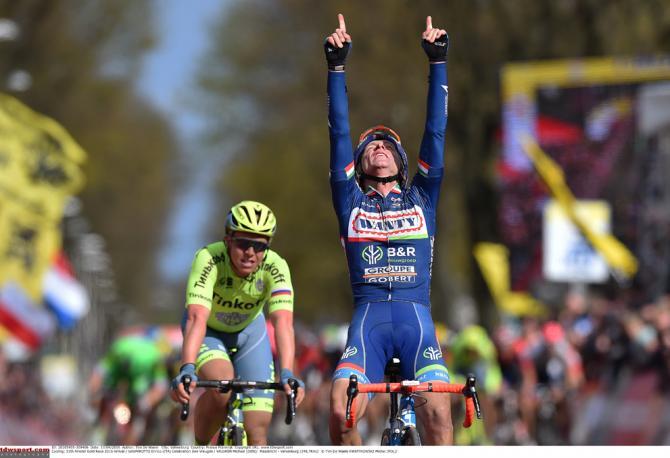 Gasparotto dedica su victoria al malogrado Demotié.