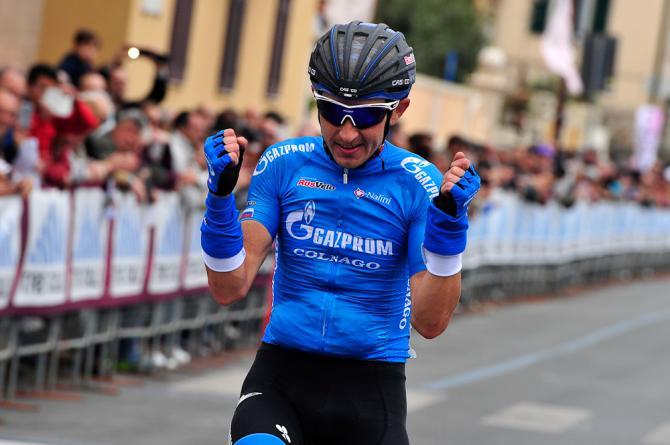 Firsanov llega al Giro en estado de gracia. Puede sorprender en la montaña. © Bettini