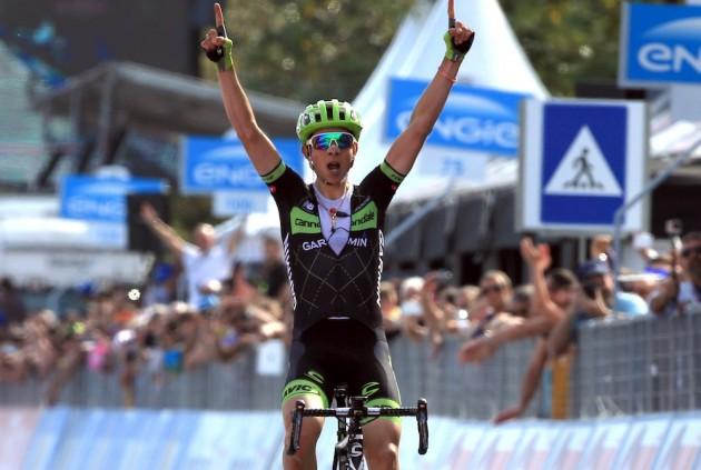 Formolo ganó una etapa espectacular en el pasado Giro. © Graham Wattson