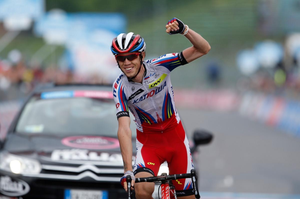 Zakarin ganó en Imola una etapa en el pasado Giro. Este año peleará por cosas más importantes. © Yuzuru SUNADA