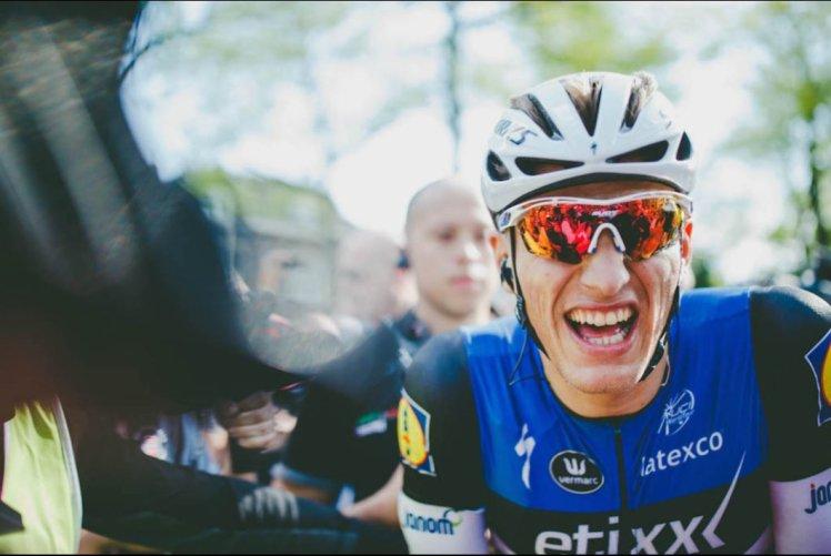 La alegría de Kittel tras lograr su tercera victoria en un Giro de Italia