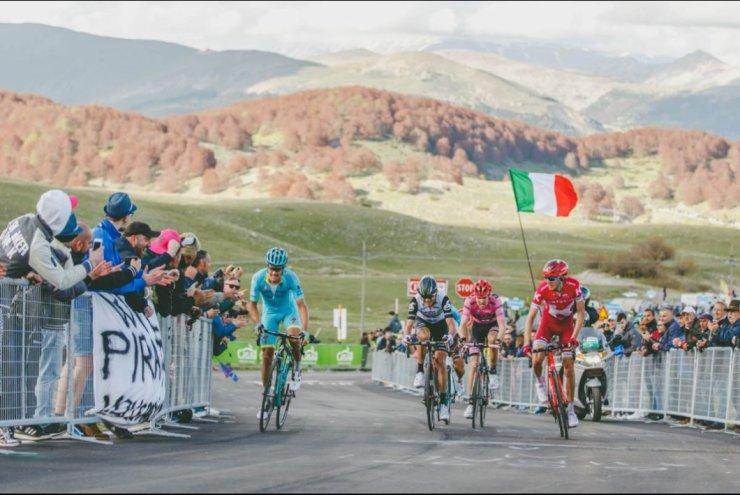 Y la montaña llegó al Giro.