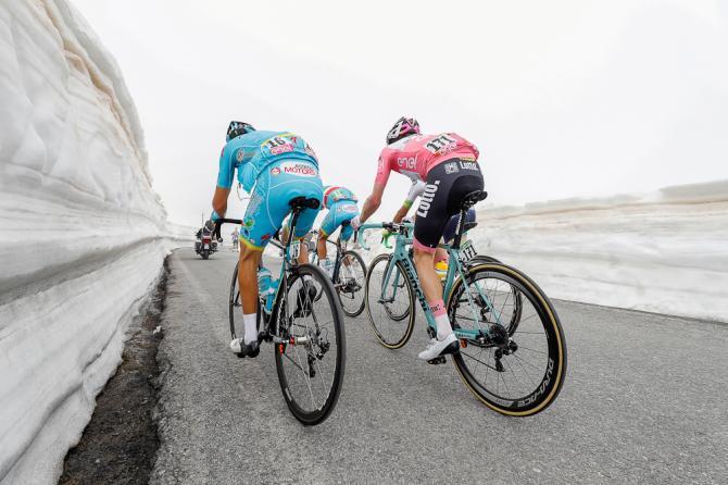 Imágenes que solo vemos en el Giro