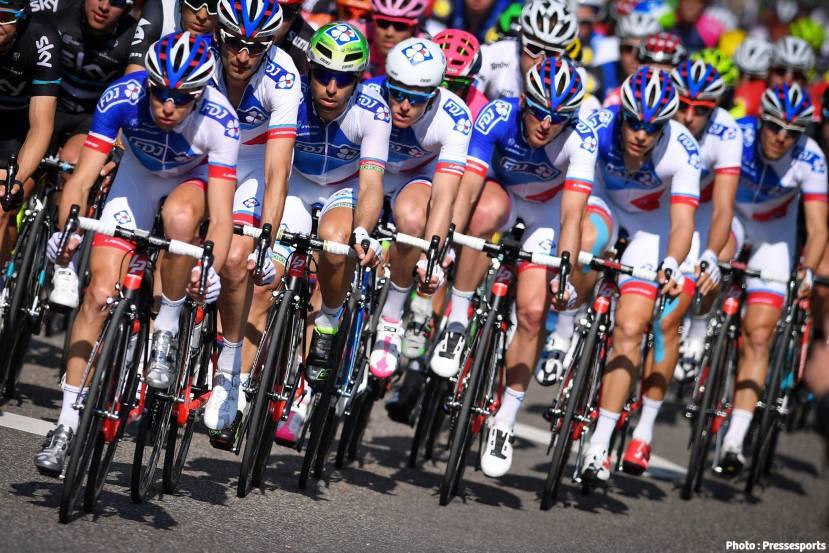 El Giro más lamentable de laFDJ