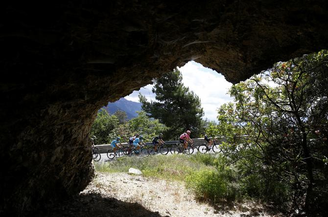 Momentos que sólo el ciclismo ofrece...