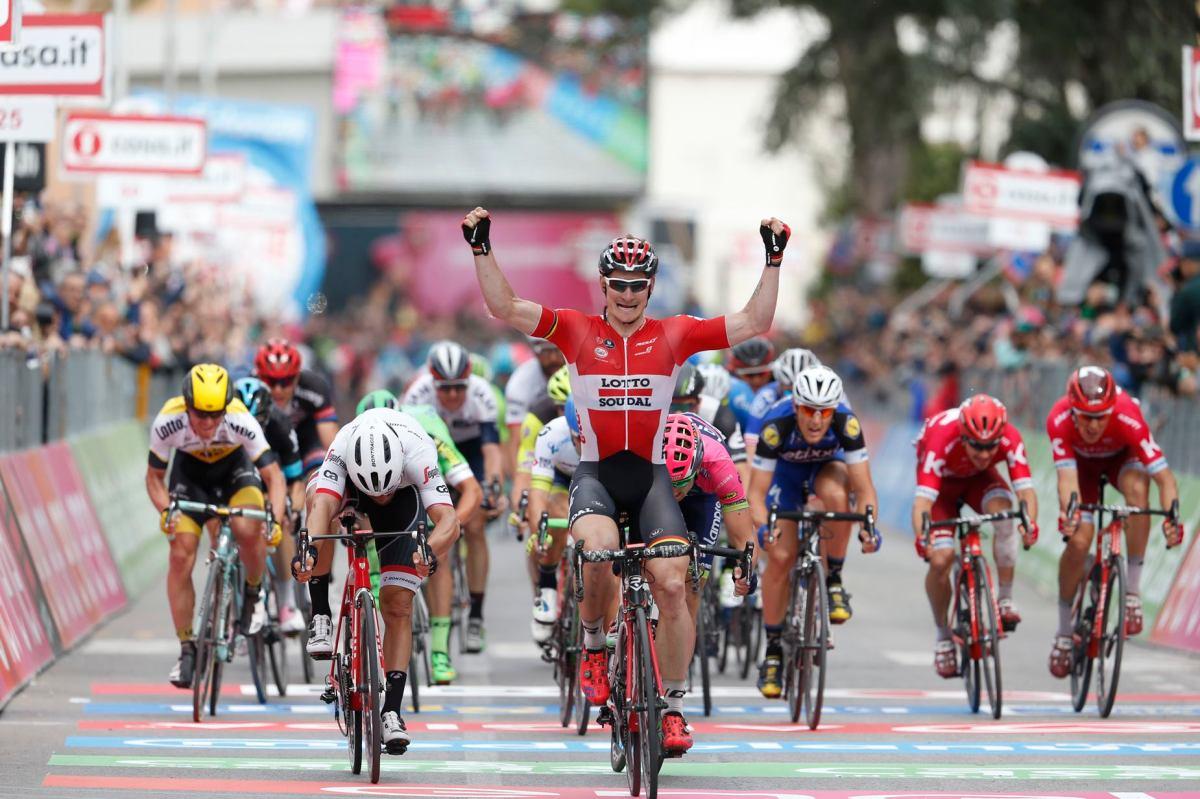 ¿El ciclista más fiable del pelotón? Greipel es un seguro de vida.