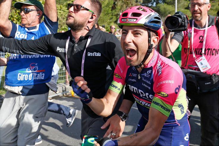 Que bien sienta ganar una etapa en el Giro