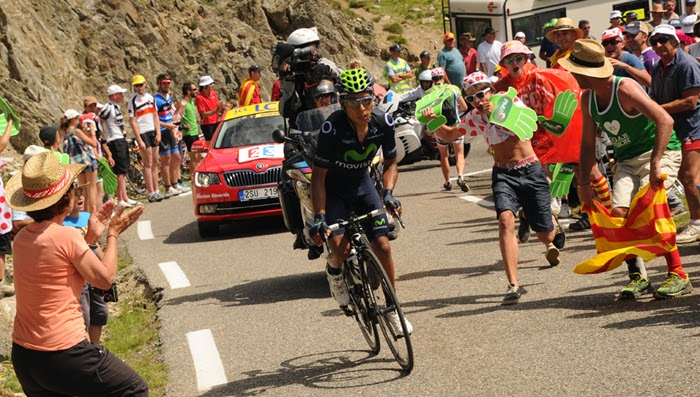 Atacando de lejos en Pailheres. Está es la actitud que Quintana debe mostrar para ganar el Tour.