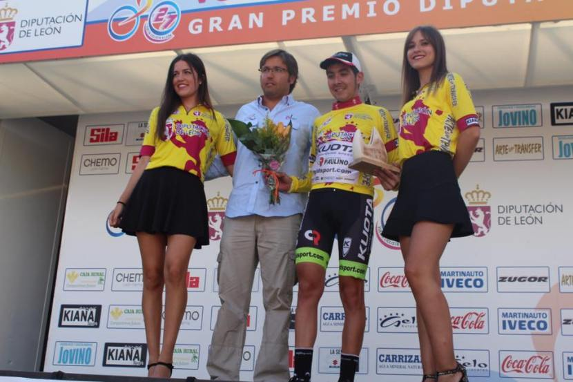 """Lobito"" Burmann vence en la XXVII Vuelta aLeón."