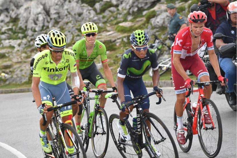 Primera semana de La Vuelta: dominaQuintana