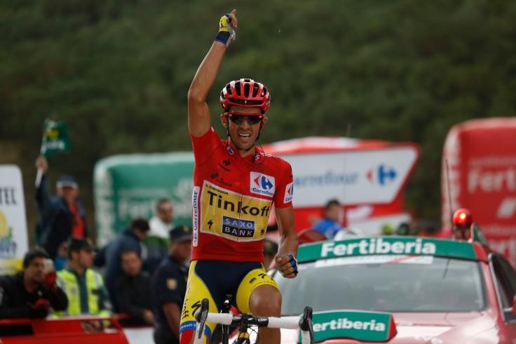 Contador buscará ganar la Vuelta por cuarta vez. El madrileño no conoce la derrota en la ronda española: tres participaciones, tres victorias. © Bettini