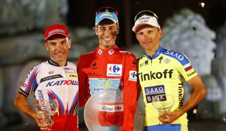 Aru, Purito y Majka no estarán en Galicia. Ninguno de los integrantes del podio de la pasada Vuelta no estarán en esta edición de la ronda española. © Tim de Waele