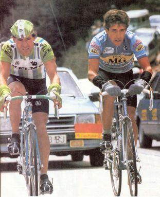 pedro-delgado-y-pepe-recio-vuelta-1985