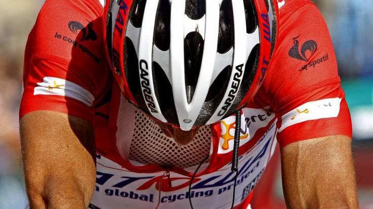 Hundido. Joaquim Rodríguez perdió en Fuente Dé la mejor oportunidad que ha tenido nunca de ganar La Vuelta. © Tim de Waele