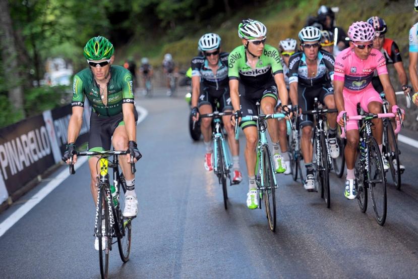 Los corredores franceses empiezan a ver el Giro con buenosojos