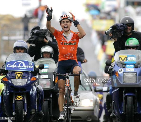 La primera gran victoria de Igor Antón tuvo lugar en Calar Alto en 2006, montaña que no se sube desde entonces. © Jaime Reina
