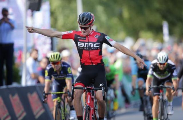 Su primera carrera con BMC y como profesional y va el tío y gana. Habrá que seguir los pasos de este joven australiano con mucha atención. © Cycling Australia