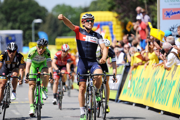Enger se metió en el top 10 en varias etapas del último Tour de Francia. Sin duda, apunta a estrella. © Tour de Austria