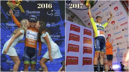 Carrera como el Tour Down Under han decidido prescindir de las azafatas, tema muy discutido en las últimas semanas en el mundillo ciclista. © Marca