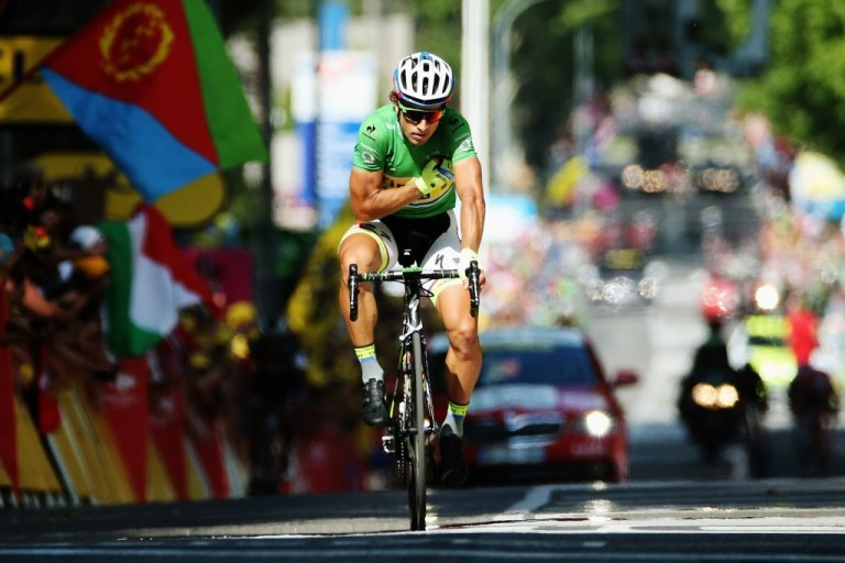 Slovakia's Peter Sagan came second for the fifth time at the 2015 Tour de France