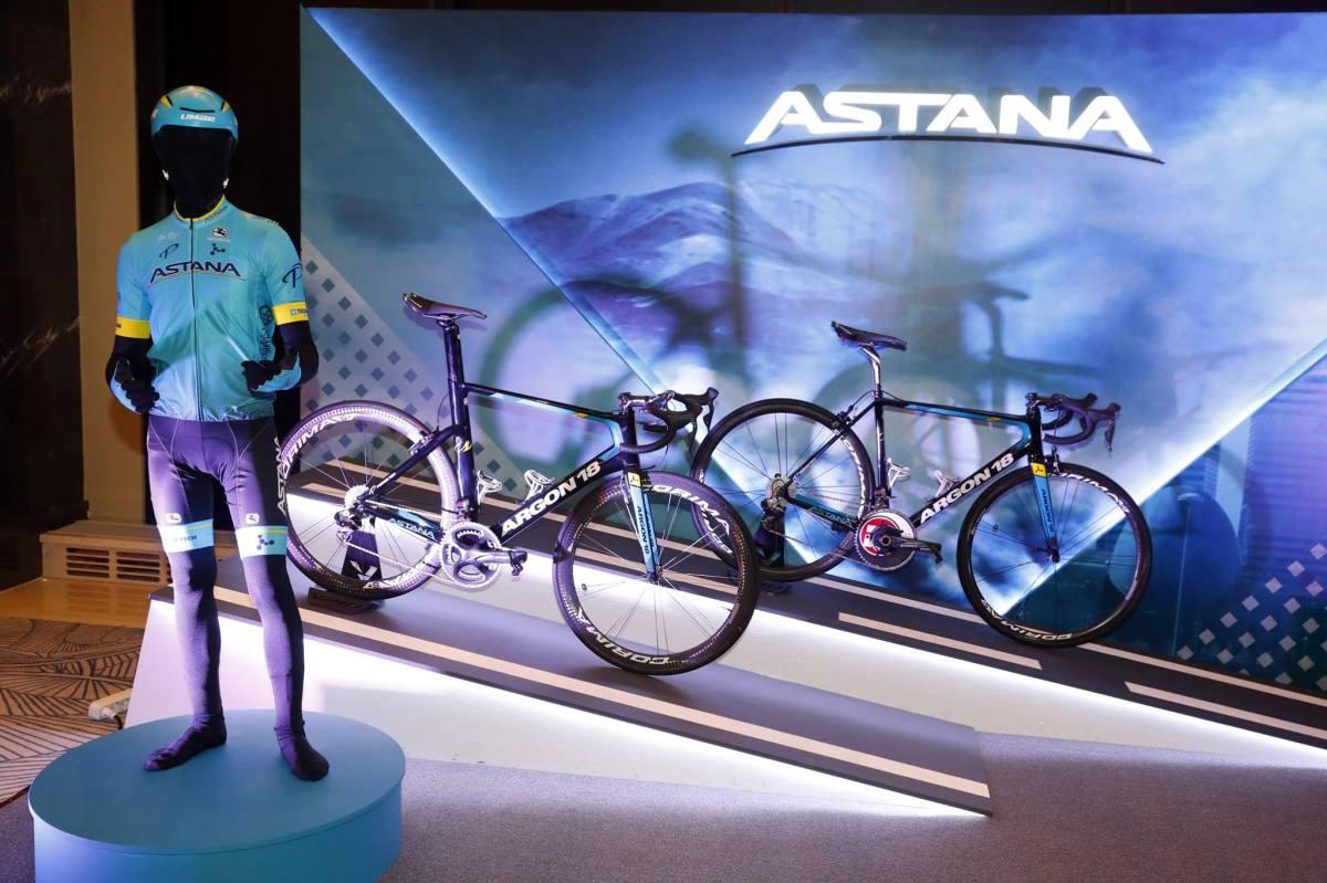 Maillot Astana 2018