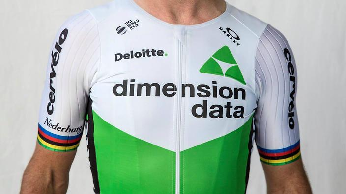 Maillot Dimensión Data 2018