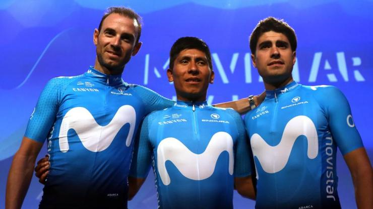 Maillot Movistar Team 2018