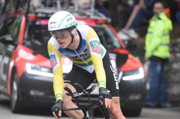 22-05-2018 Giro D'italia; Tappa 16 Trento - Rovereto; 2018, Bmc Racing Team; Dennis, Rohan; Rovereto;